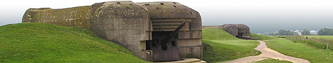 German Gun Battery in Normandy