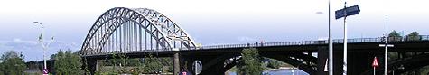 Nijmegen Bridge in Holland