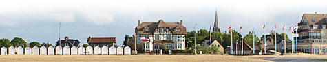 Canada House on Juno Beach in Normandy