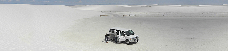 Exploring White Sands National Monument - White Sands, New Mexico