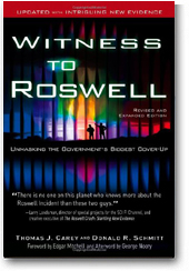 Witness to Roswell by Tom Carey & Don Schmitt »