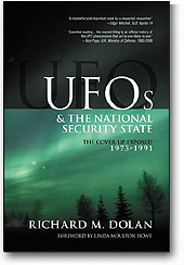 UFOs and the National Security State: 1973-1991 by Richard Dolan »